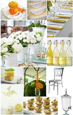 some cute ideas for a spring brunch...or a shower!