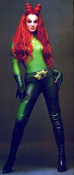 "Women of Batman: Uma Thurman as Poison Ivy / Dr. Pamela Isley in ""Batman And…"