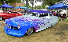 51 Ford, Chopped, Dropped, Slammed, Dummy Appleton Spots, Bubble Skirts & Lakes Pipes & an Air Dam..Fun Colors LL:)