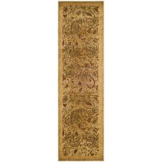 Safavieh Lyndhurst Traditional Paisley Beige/ Multi Runner (2'3 x 12')