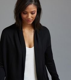 Discover our latest tops. Update your look with the newest blouses, tees, bodysuits and more in the styles, shapes and sizes you need. Open Cardigan, Shapes, My Style, Fashion, Moda, La Mode, Fasion, Fashion Models, Trendy Fashion