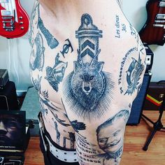 "150 Likes, 7 Comments - David von Patten (@herr7ourist) on Instagram: ""Deer-wolf epaulette...&..Franz Ferdinand peaking below.. God, I hope I never go to jail in Russia.…"""