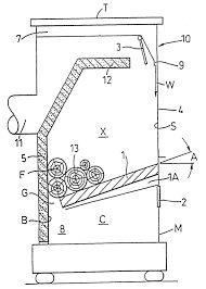 Image result for sawdust stove design