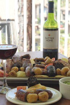 MSG 4 21+ Maridaje aperitivos colombianos y vino: picada de carnes y Merlot  #SummerVino #ad @sutterhome