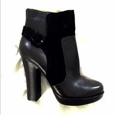 Jessica Simpson booties New! Never worn!! Size 8! Real Leather. Buckle detail on the side. Jessica Simpson Shoes Ankle Boots & Booties