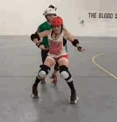 Sarah Hipel of the Texas Rollergirls has a new blog for drills, tips, and tricks (which might be part of the reason why I'm trying to do one-footed hockey stops in my apartment right now). I'd...