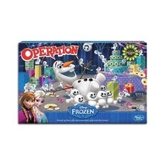 Frozen Olaf Operation Board Game