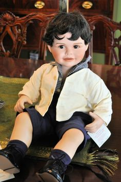 Baby Donny Dear to my Heart Toddler doll signed by Marie Osmond!