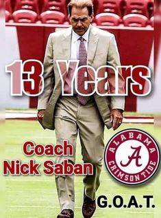 Crimson Tide Football, Alabama Football, Alabama Crimson Tide, Football Fans, Football Season, Bama Fever, Nick Saban, University Of Alabama, Roll Tide