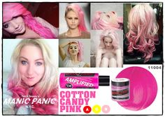 Manic Panic Amplified Cotton Candy Pink  Vellus Hair Studio 83A Tanjong Pagar Road S(088504) Tel: 62246566