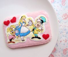 Hearts of Alice In Wonderland  iphone Camera Case in Pink