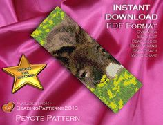 Peyote Pattern 25% OFF  Buttercup Donkey by BeadingPatterns2013