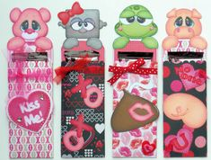 Candy Bar Wrappers Paper Piecing Patterns & Cutting Files (SVG,WPC,GSD,DXF,AI,JPEG)