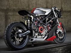過激すぎると話題の Ducatiフルカスタム by Apogee Motorworks ... Ducati 749
