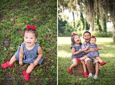 Sienna 8 months - rustic location  © Brandi Watford Photography LLC
