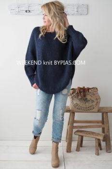 WEEKEND Knit, NAVY