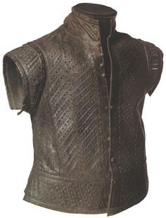 Leather jerkin belonging to a youth, London, 1550-1600