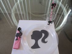 Barbie Birthday Party Plates by BehindTheTheme on Etsy