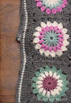 granny square scarf