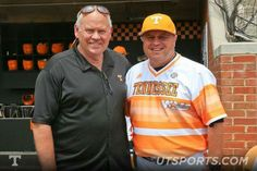 Hall of Fame & former Head Coach of the Vols Football Team Phillip Fulmer was on hand Saturday, May 16, 2015 for rally for Vols Baseball.