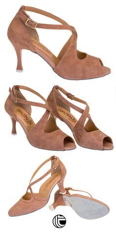 6f63c0505b8 Zapato italiano con tacón de 6 cm para conseguir unos giros y pasos de  baile perfectos