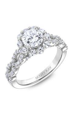Shop Scott Kay M2569R510 Engagement rings | Bailey Banks & Biddle