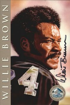 1998 Ron Mix HOF Platinum AutographsNNO Willie Brown Broncos/Raiders O11123 in Sports Mem, Cards & Fan Shop, Cards, Football | eBay