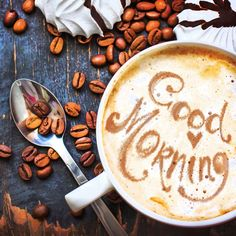 Beautiful Good morning coffee images wishes and quotes share these inspirational good morning images and good morning coffee picture quotes with beloved. Coffee Talk, Coffee Break, Coffee Shop, Coffee Lovers, Morning Coffee Images, Good Morning Coffee, Sunday Coffee, Morning Morning, Monday Morning