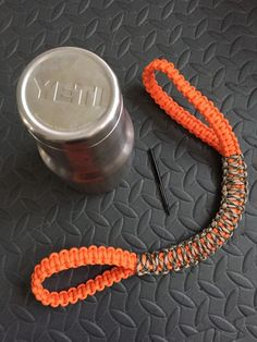 Paracord Yeti Handle - made using paracord from WildWolfPack.net