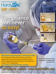 Hardy Diagnostics - HardyVal - Compliance was never so easy!  (As seen in the 2016 Pharmacy Platinum Pages Buyer's Guide: rxplatinumpages.com)