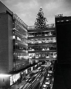 Rich's Department Store Atlanta, GA. The Rich's Christmas tree was a tradition - lit every year on Thanksgiving night.