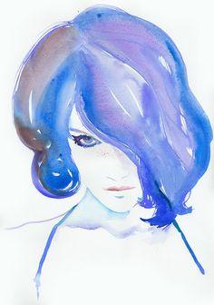 Love blue.