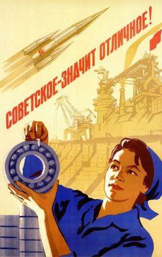 La corsa allo spazio dei cosmonauti nella propaganda sovietica - Focus.it