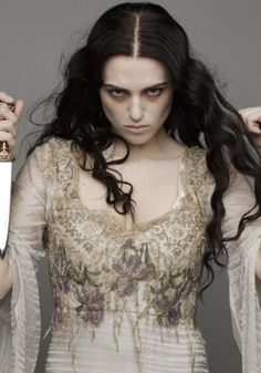 The Witch....Morgana Pendragon Ooh, witch makeup