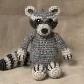 Crochet raccoon pattern - via @Craftsy