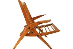 Midcentury French Armchair - Silhouette View