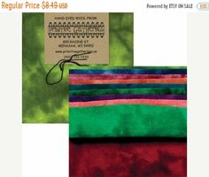 """Easter SALE Wool 5"""" Charm Pack Brights 2 PRI 6023 Primitive Gatherings Moda Fast Shipping, CP635"""