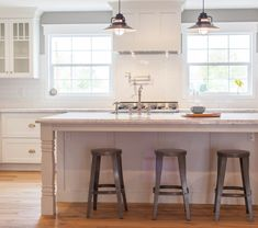 Kitchen Island With Sink kitchen, no upper cabinets. sink in island. stove right behind it