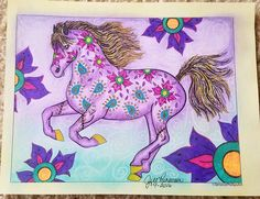 The Wonderful World of Horses - Edition - Adult Coloring / Colouring book: Beautiful Horses to Color - Edition with revised and additional illustrations Horse Coloring Pages, Coloring Books, Beautiful Horses, 2 Colours, Adult Coloring, Wonders Of The World, Moose Art, Projects To Try, Canvas Art