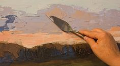 Deborah Quinn-Munson teaches how to use a painting knife to produce a variety of effects, from sculptured, gestural strokes to precise detailing.
