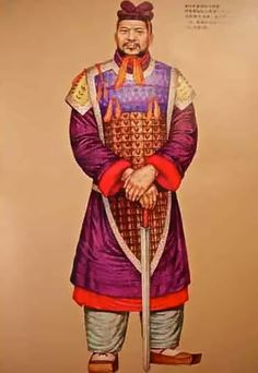 Ancient Chinese Military Uniforms - Qin Dynasty (221BC~207BC)