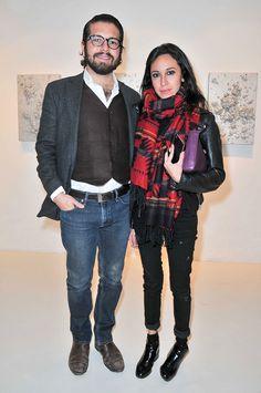 Mauricio Galguera y Barbara Ter�n, Editora de Agenda y Mundo de Vogue M�xico y Latinoam�rica