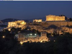 Beautiful photos and wallpapers - Parthenon at Night, Acropolis, Athens, Greece Hotels In Athens Greece, Athens City, The Places Youll Go, Places To See, Greece Wallpaper, Parthenon Athens, Acropolis Greece, Wonders Of The World, Places To Travel