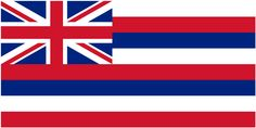"Illustration: state flag of Hawaii. Source: Wikimedia Commons. Read more on the GenealogyBank blog: ""Hawaii Archives: 25 Newspapers for Genealogy Research."" http://blog.genealogybank.com/hawaii-archives-25-newspapers-for-genealogy-research.html"
