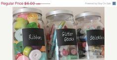 Sale Small Chalkboard Labels  Buy 2 get 1 free  12 by BradensGrace
