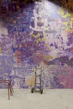 Kilden Performing Arts Centre, Kristiansand, 2012 - ALA Architects #interiors #concrete #violet