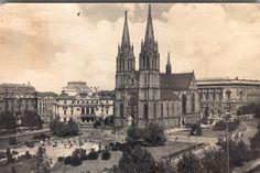 Namesti miru, my old haunts Prague Cz, Czech Republic, Cathedral, The Neighbourhood, Painting, Travel, The Neighborhood, Viajes, Painting Art