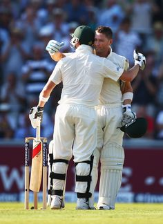 Australia captain Michael Clarke hit his 24th Test century on day one of the third Ashes Test on August 1, 2013. (Getty Images)