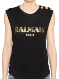 9ea6b40037e Balmain Tee T Shirt. Free shipping and guaranteed authenticity on Balmain  Tee T Shirt at. Tradesy