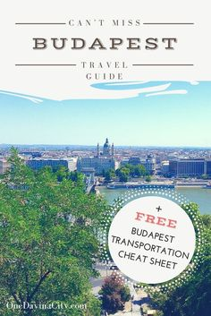 Traveling to Budapest, Hungary? Find out the things to do and top sites that you can't miss seeing while there. This detailed itinerary guide is full of travel tips to make the most of your time in Budapest.  Click through for sightseeing info, hotel recommendations, where to eat, and a FREE 2-page Budapest Transportation Cheat Sheet!